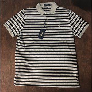 Polo style pattern shirts sz large